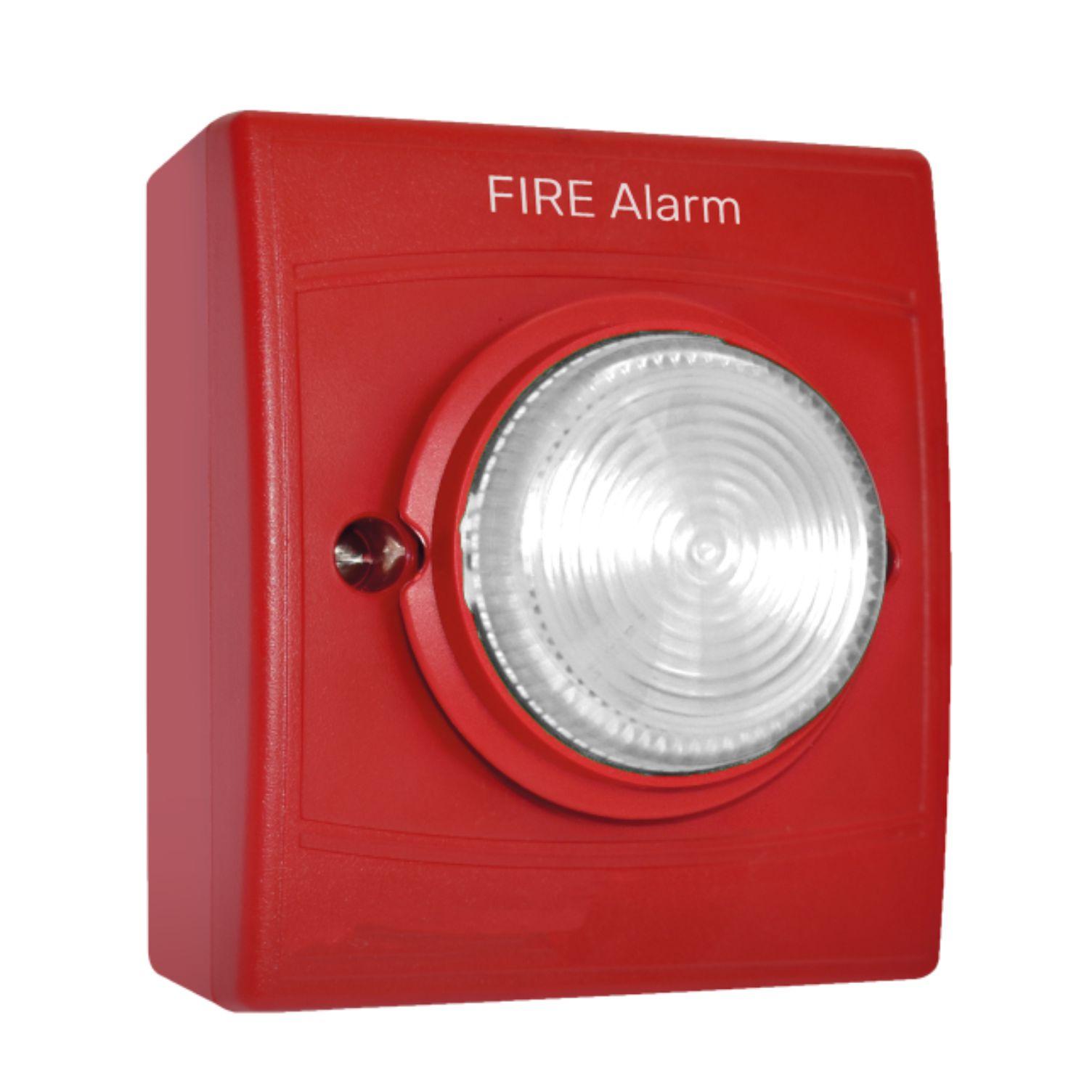 Identifire Tritone Sounder VID Flush Fit, Red Case...