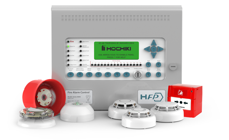 HFP Complete Fire Detection System