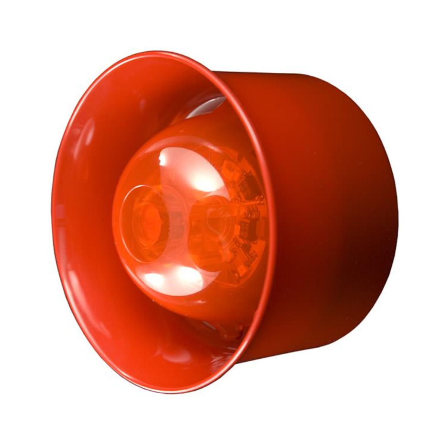CHQ-WSB Wall Sounder Beacon - red case, red lens