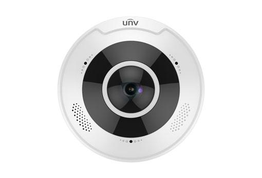 4K Ultra HD Vandal-resistant Fisheye Fixed Dome Ca...