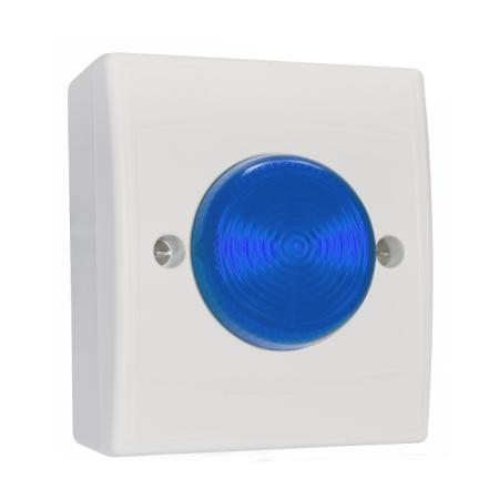 Identifire VID Flush Fit, White Case, Blue Lens 12...
