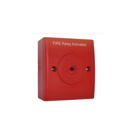 Identifire Auxiliary Relay Flush Fit, Red Case 167...