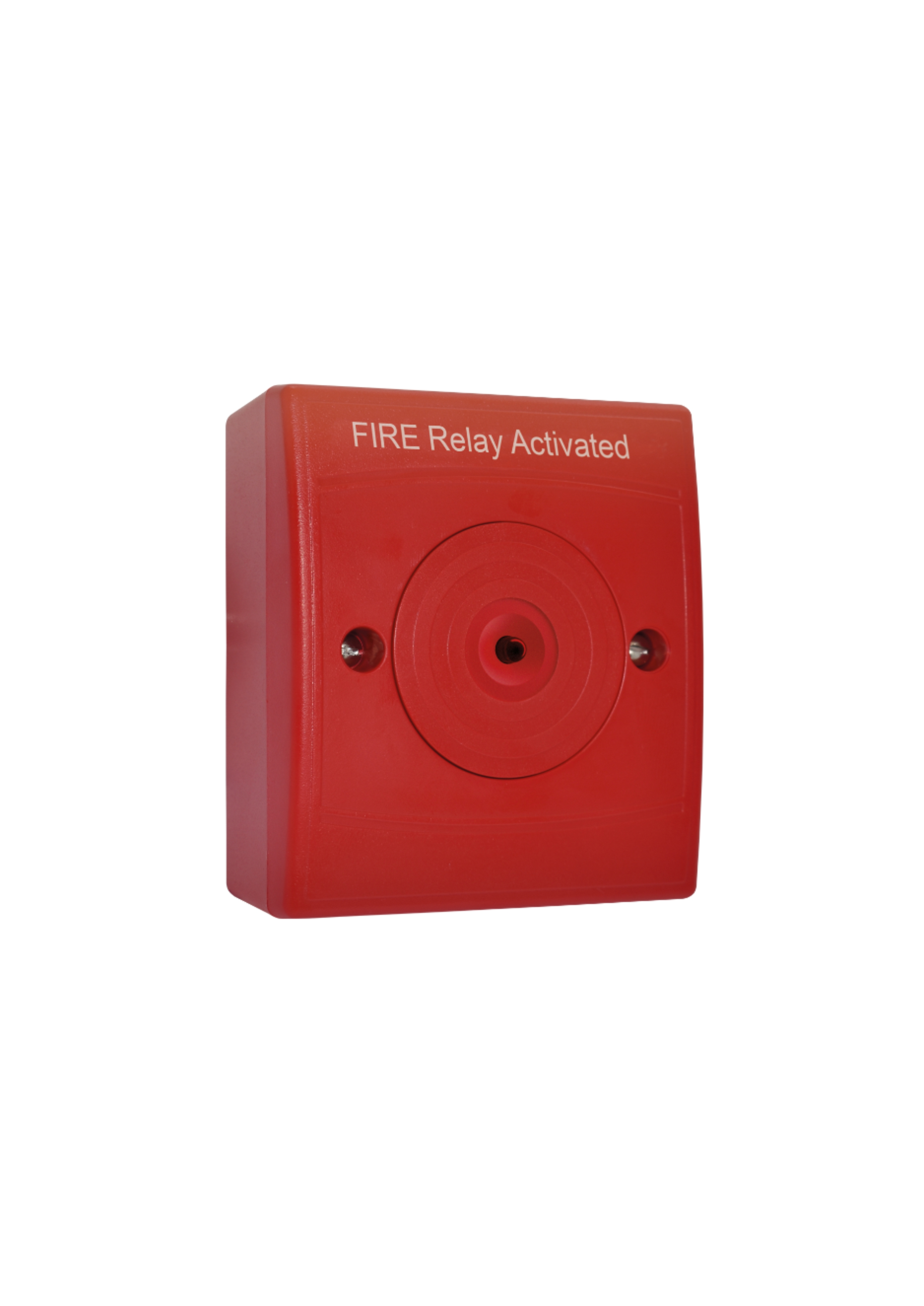 Identifire Auxiliary Relay Surface Mount, Red Case...