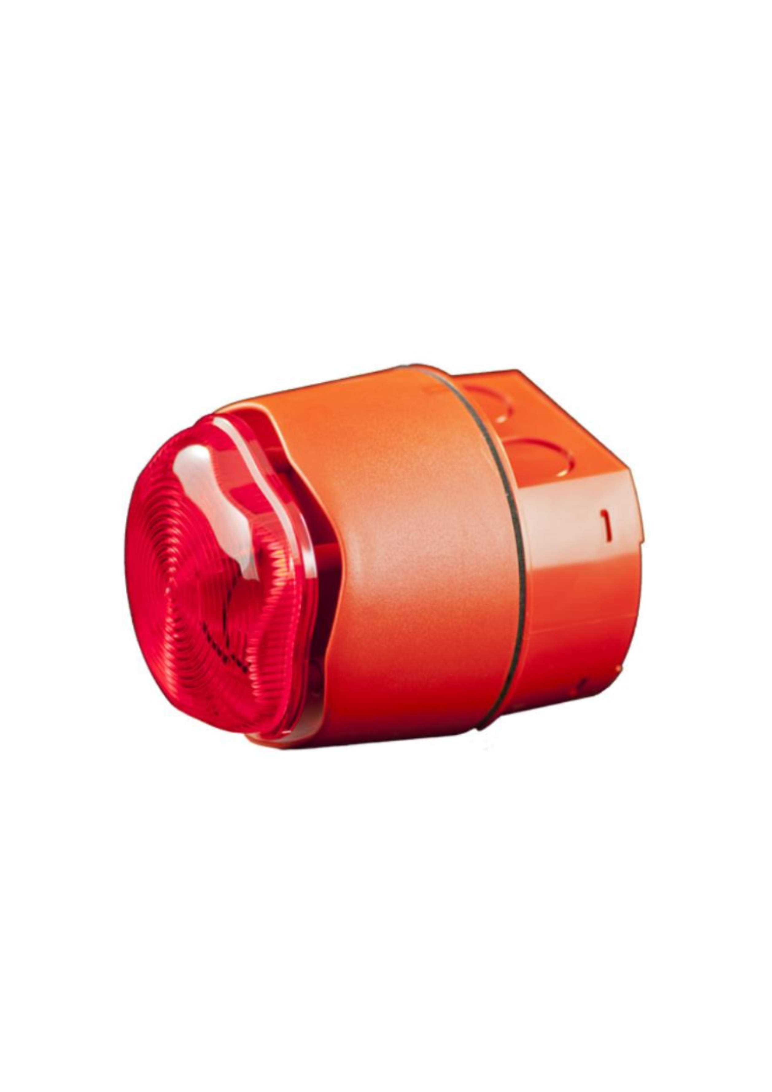 Conventional Weatherproof Sounder Beacon (red case...