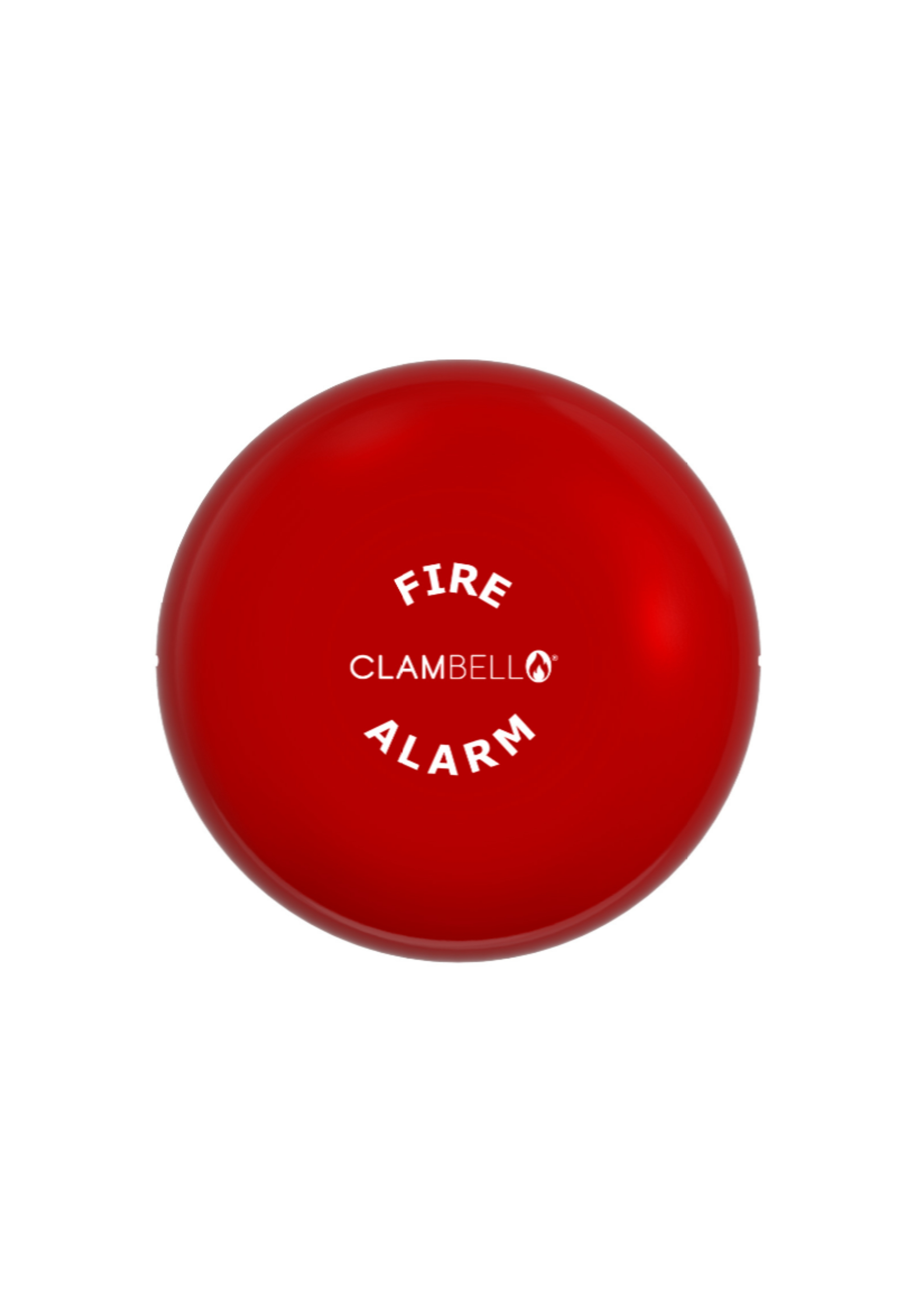 ClamBell 24V 6 Inch Fire Alarm Bell - Weatherproof...