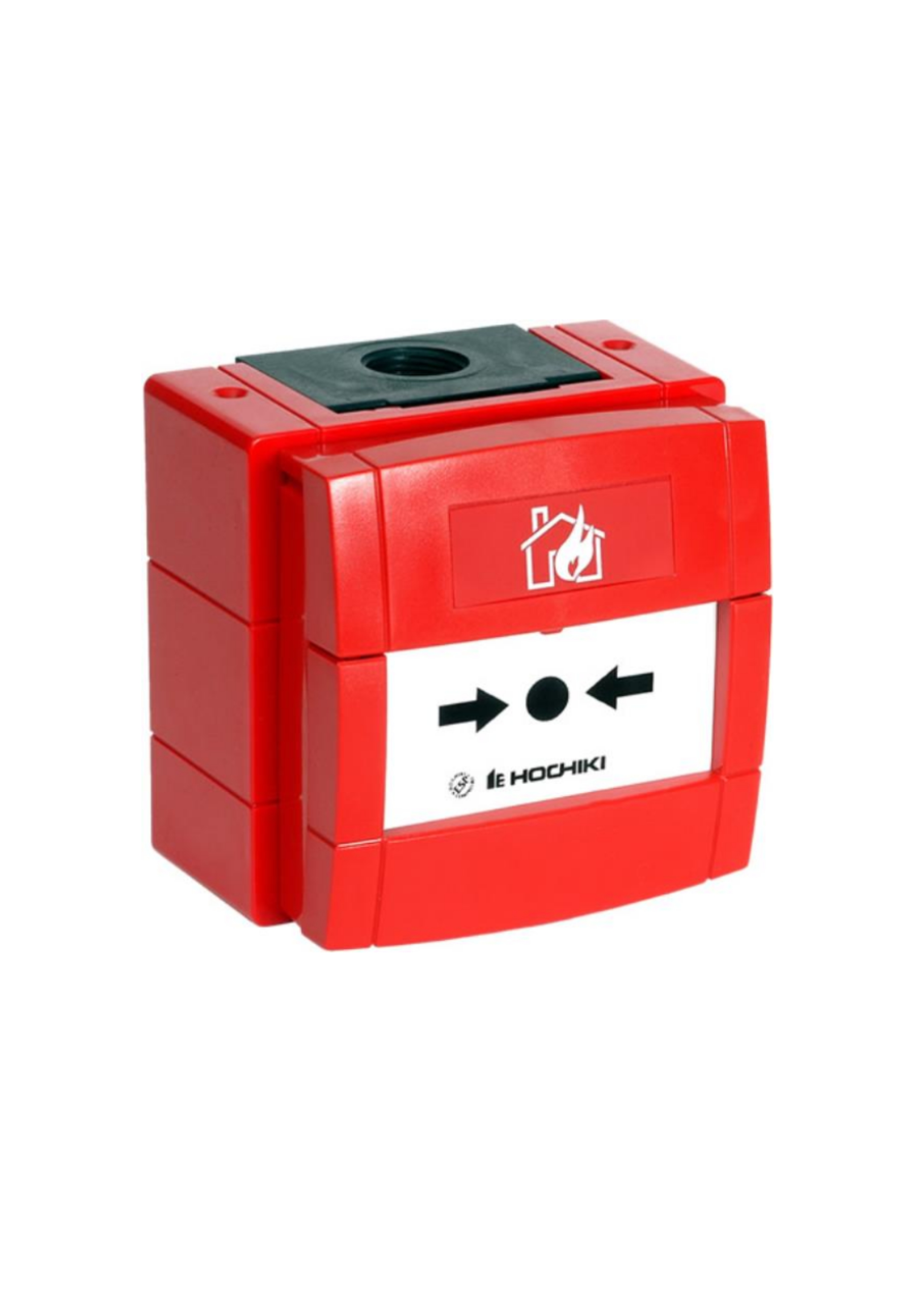 Weatherproof Conventional Call Point with red back...