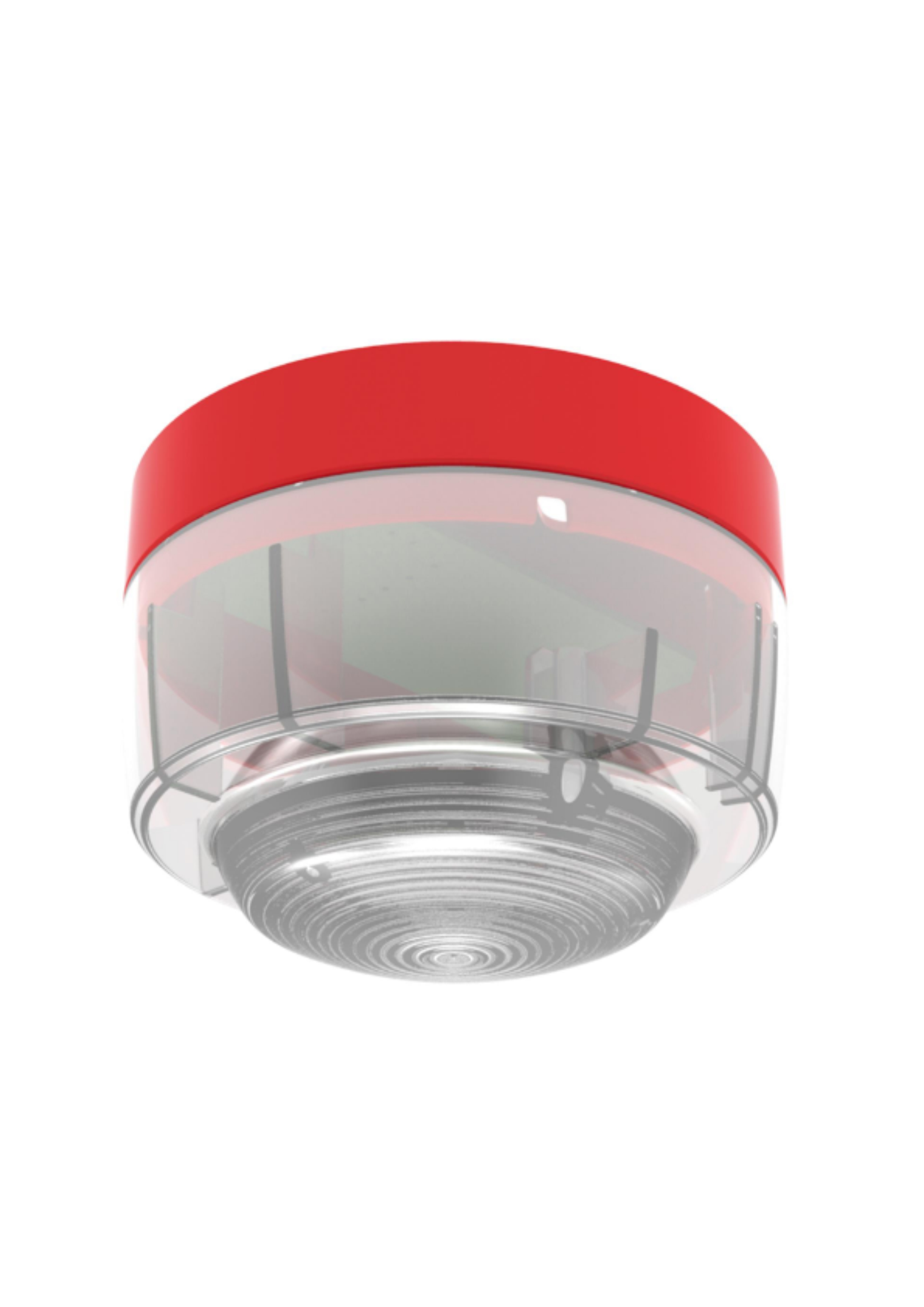 Conventional Beacon - Red case, red LEDs 1260160-0...