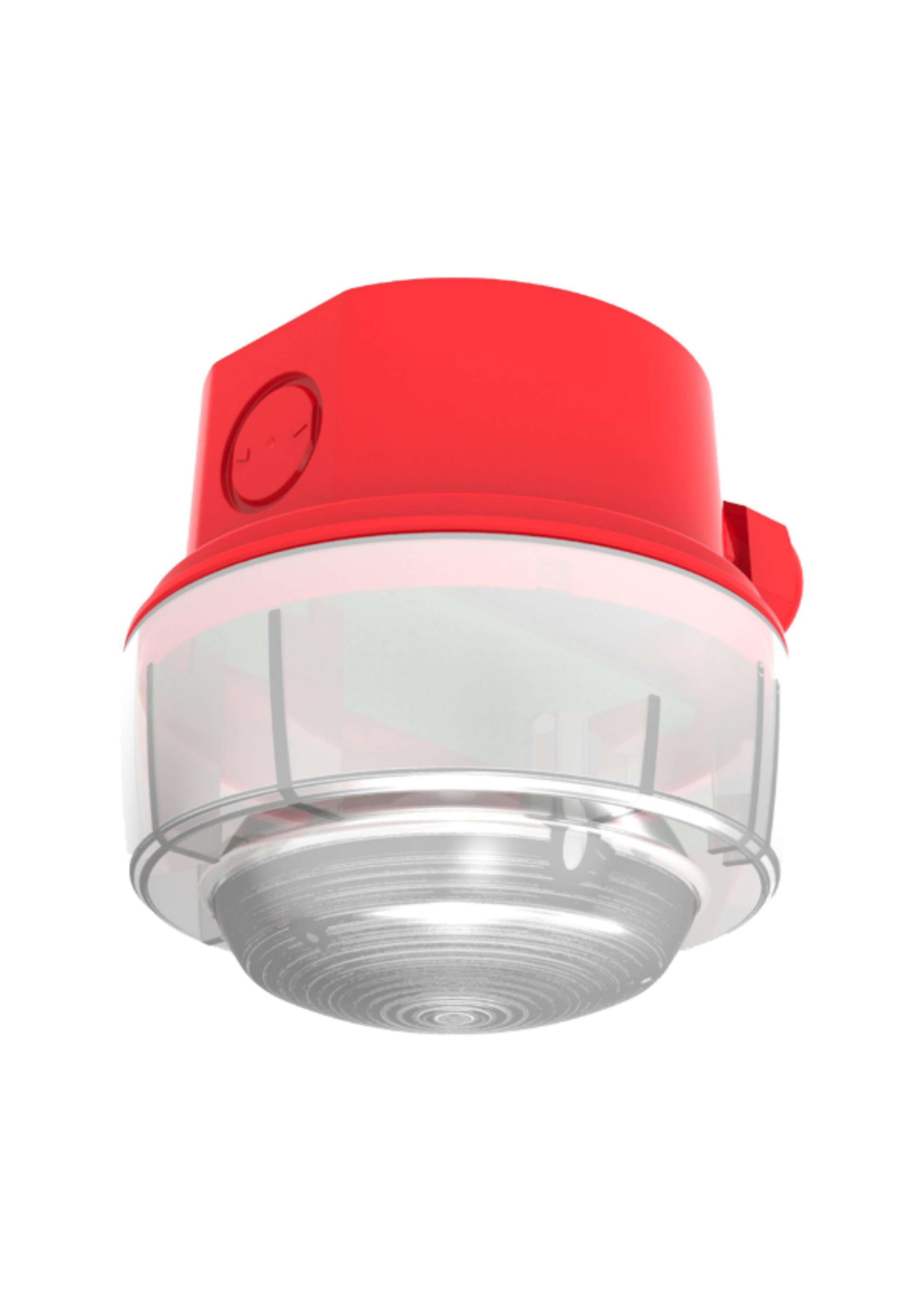 Conventional Beacon - Red case, red LEDs (IP65) 12...