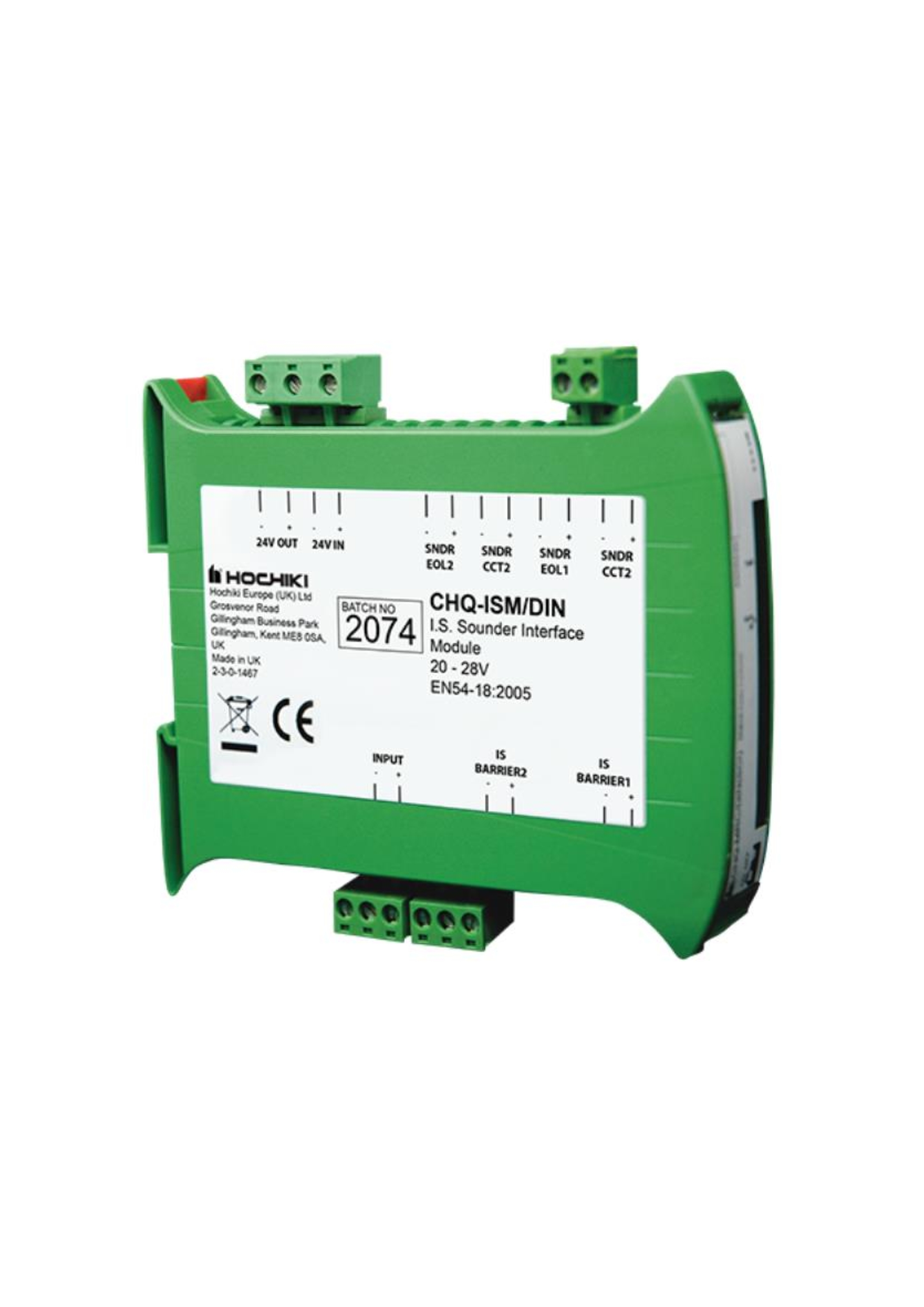 Intrincially Safe Compatible Sounder Module - DIN ...