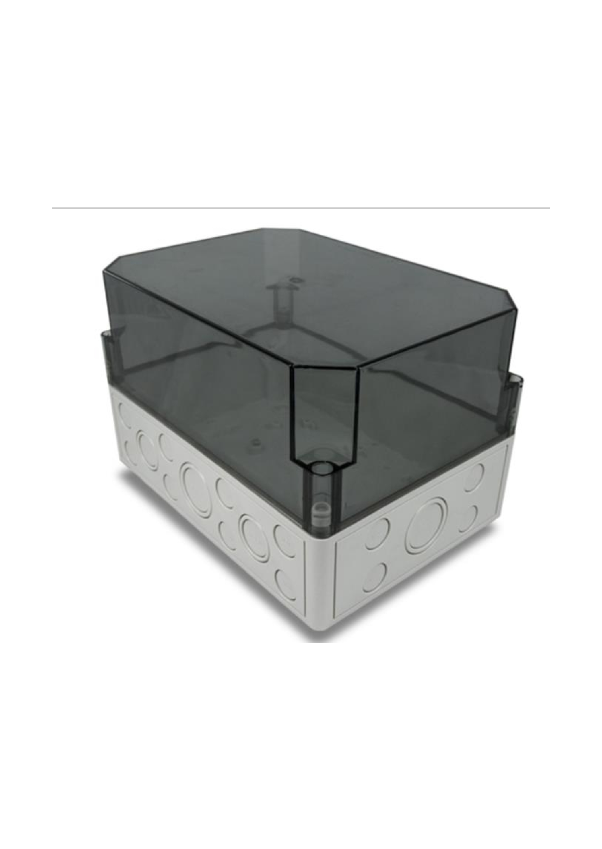 DIN Mounting Box - Large (up to 6 DIN rail modules...